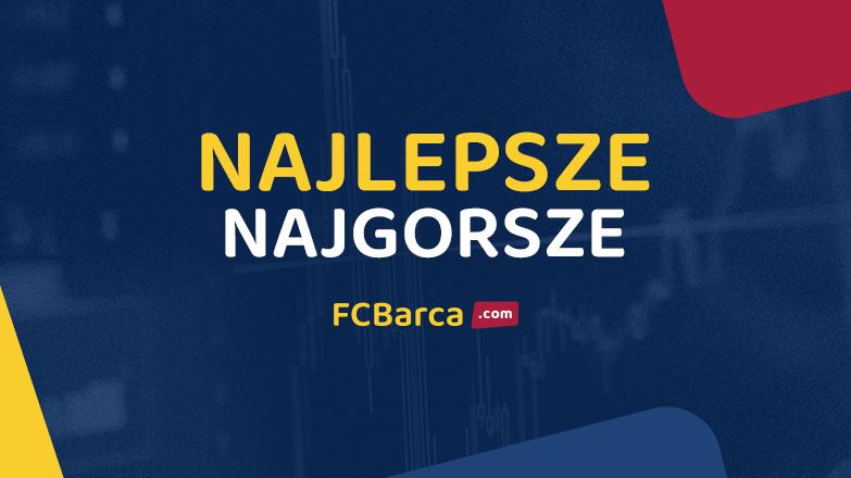 Barcelona - Deportivo Alavés: najlepsze, najgorsze wg FCBarca.com