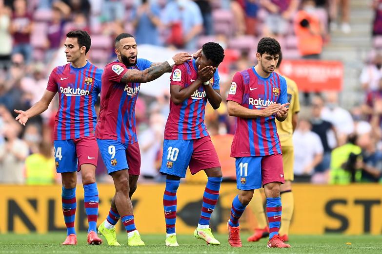 Barcelona wysoko wygrywa, Ansu wraca i strzela!