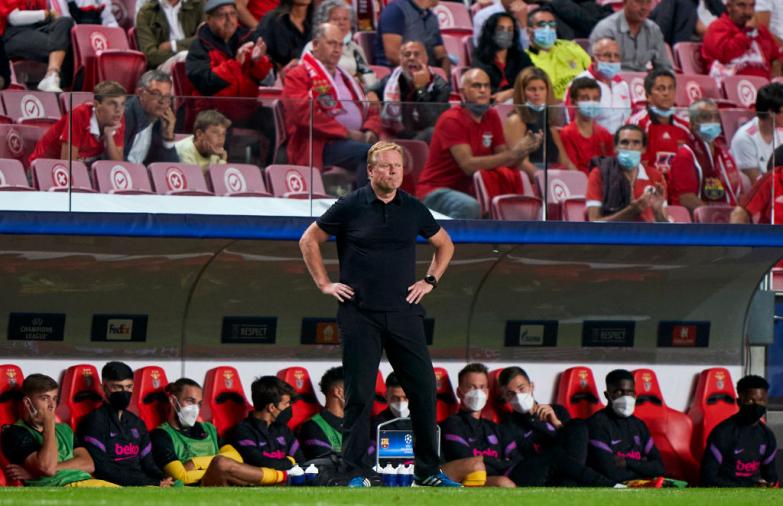 Kolejna kompromitacja w Lizbonie. Barcelona wciąż bez punktów w Lidze Mistrzów