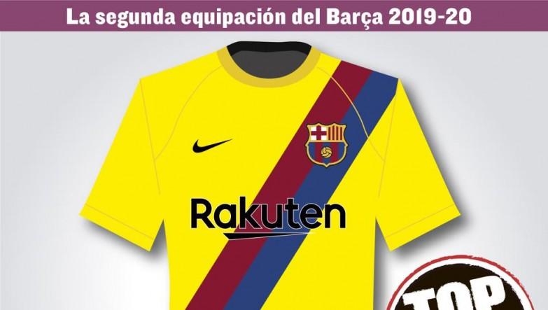 8cafa4569 Mundo Deportivo przedstawia projekt drugiego zestawu koszulek Barçy na  sezon 2019/2020 › FCBarca.com