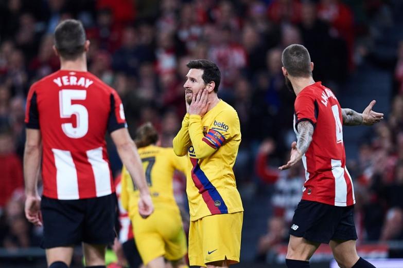 Barça przegrywa na San Mamés i żegna się z Pucharem Króla