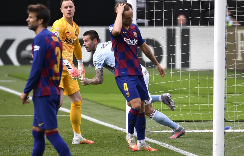 Barcelona gubi punkty na Balaídos, tytuł coraz dalej