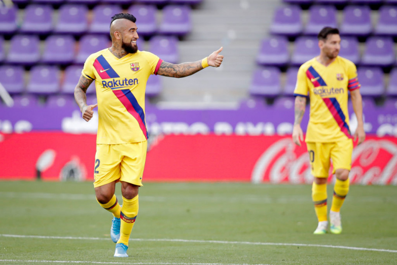 Barcelona o dwóch obliczach wygrywa z Realem Valladolid