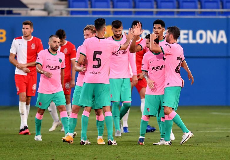 Barcelona wygrywa z Gironą 3:1 w drugim meczu presezonu
