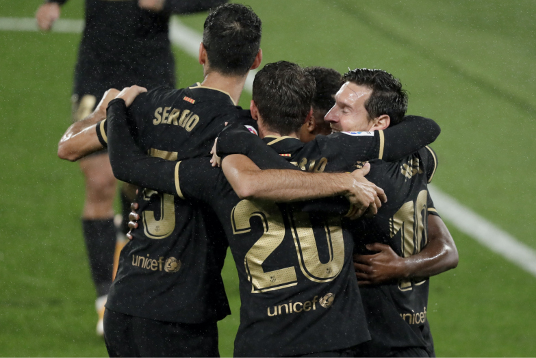 Pewna wygrana Barcelony na Balaídos