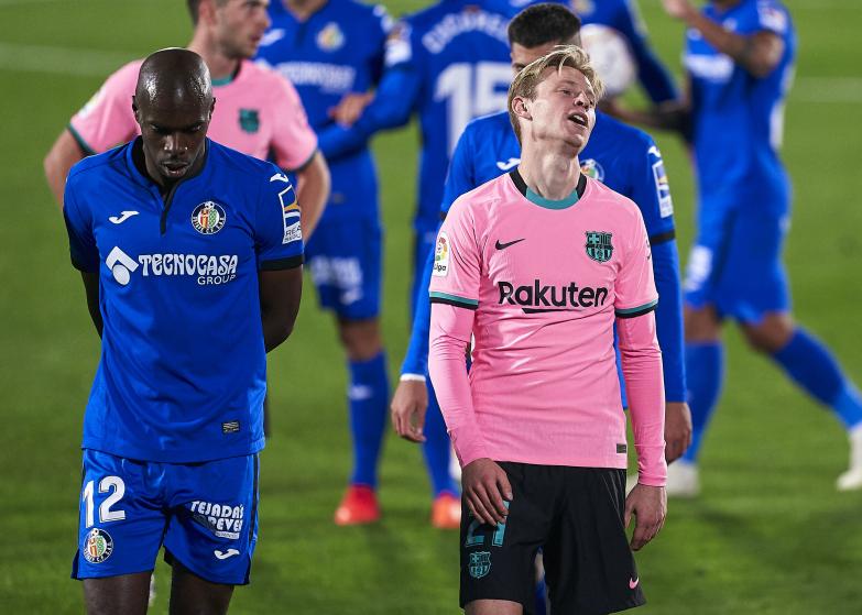 Bezbarwna Barcelona przegrywa na Coliseum Alfonso Pérez