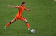 Świetny występ Frenkiego de Jonga przeciwko Ukrainie