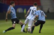 Argentyna lepsza od Urugwaju, kluczowa asysta Messiego
