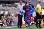 Problemy Clementa Lengleta z kolanem w meczu z VfB Stuttgart