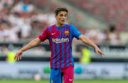 Duży udział młodych piłkarzy we wczorajszym meczu Barcelony z Salzburgiem