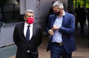 Marca: Joan Laporta zamierza uspokoić sytuację związaną z przyszłością Ronalda Koemana