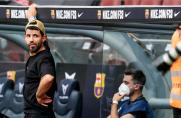 Marca: Camp Nou czeka na debiut Sergio Agüero
