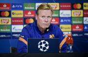 Ronald Koeman: Możemy rywalizować, ale nie można wymagać wygrania Ligi Mistrzów