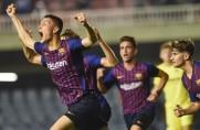Remis Barcelony B z liderem tabeli po golu w doliczonym czasie gry