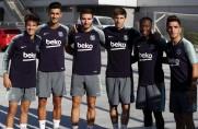 FC Barcelona odbyła trening bez Leo Messiego
