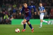 Pierwszy strzał Coutinho z rzutu wolnego w barwach Barcelony