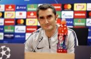 Ernesto Valverde: Straty Dembélé? Inni też tracą piłkę, ważne jest to, co robi się później