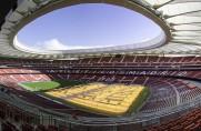 Nowa murawa na Wanda Metropolitano przed meczem Atlético z Barceloną