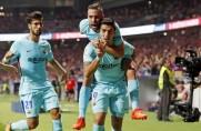Barcelona od ośmiu lat nie przegrała na stadionie Atlético w LaLidze