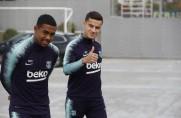 Philippe Coutinho wrócił do treningów z drużyną [WIDEO]