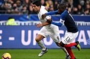 Nieudanazemsta Urugwajczyków na Francuzachza ostatni mundial; bezbarwny Luis Suárez [WIDEO]