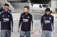 Coutinho trenuje z drużyną, powrót reprezentantów Hiszpanii i Cillessena [WIDEO]