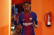 Sport: Ousmane Dembélé przeprosił kolegów z drużyny za swoje zachowanie