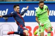 Levante przygotowuje się do meczu z Barceloną