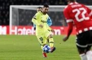 Leo Messi i Sergio Busquets w najlepszej jedenastce fazy grupowej Ligi Mistrzów według France Football