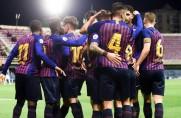 Barcelona B wygrywa 2:1 z liderem z Lleidy