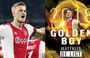 Matthijs de Ligt zdobywcą nagrody Golden Boy 2018 dziennika Tuttosport