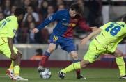 Historia meczów Barcelony z Lyonem w Lidze Mistrzów