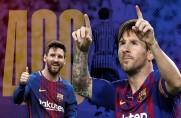 Leo Messi: Jestem dumny, że strzeliłem 400 goli, i mam nadzieję, że uda mi się zdobyć kolejne