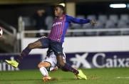 Barça B przegrywa z Ejeą, czerwona kartka dla Moussy Wagué