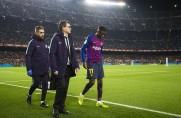 Oficjalnie: Ousmane Dembélé będzie pauzować przez około 15 dni