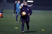 Ernesto Valverde: Umtiti nie nalegał, by pojechać z nami do Lyonu