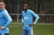Trening regeneracyjny po meczu z Lyonem