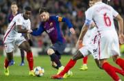 Barcelona z Leo Messim nie przegrywa na Ramón Sánchez Pizjuán