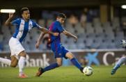 Sport: Barcelona chce przedłużyć współpracę z napastnikiem drużyny rezerw Rafą Mujicą