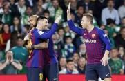 Szesnaście meczów Barcelony w drodze po tryplet