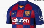 Portal Footy Headlines opublikował zdjęcia rewolucyjnego projektu koszulek Barcelony na nowy sezon