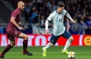Messi nie pomógł Argentynie; pewne zwycięstwo Francji z Mołdawią