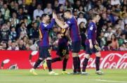 Marca: Barcelona 2018/19 utrzymuje tempo drużyn Guardioli i Luisa Enrique w marszu po tryplet