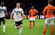 Niemcy górą w hitowym pojedynku z Holandią; łatwa wygrana Belgii z Cyprem