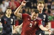 Chorwaci z Ivanem Rakiticiem w składzie przegrali z Węgrami 1:2