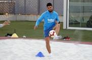 Trening bez udziału Leo Messiego, Luis Suárez pracował indywidualnie [WIDEO]