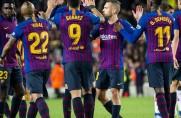 Barcelona może odebrać w sobotę puchar za mistrzostwo Hiszpanii (aktualizacja)