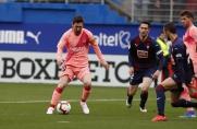 SD Eibar - FC Barcelona: remis do przerwy
