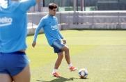 Philippe Coutinho odbył cały trening z drużyną dwa dni przed finałem Pucharu Króla