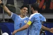 Świetny początek Urugwaju, Luis Suárez z bramką
